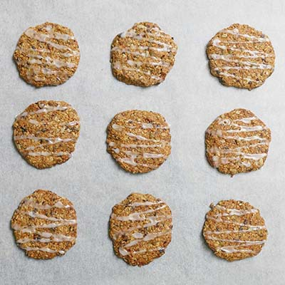 Carrot and oat cookies at British Early Years Centre International kindergarten in Bangok