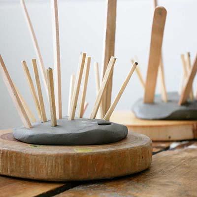 Natural Material Crafts at British Early Years Centre Bangkok